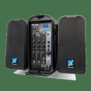 מערכת הגברה ניידת מקצועית TRX Audio P5000 - הפיתרון המושלם להופעות רחוב